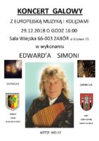 Plakat Zabór 2018